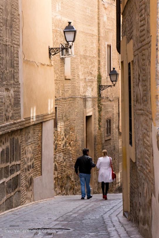 The Streets of Toledo Spain