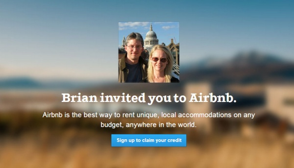 Brian Invited You to AirBnB