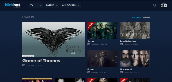 How to Stream Game of Thrones BlinkBox