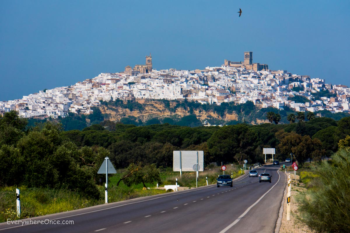 Learning to Drive in the White Hill Towns of Andalusia, Spain  Everywhere Once