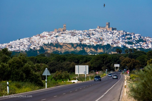 The White City of Arcos de la Frontera, Andalusia, Spain