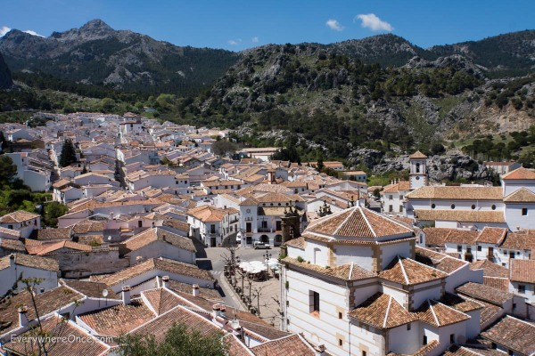 The White City of Grazalema, Andalusia, Spain