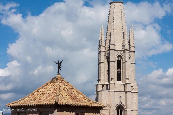 Girona Collegiate Church of Sant Feliu Spire