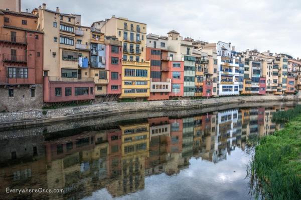 Girona on the Onyar River