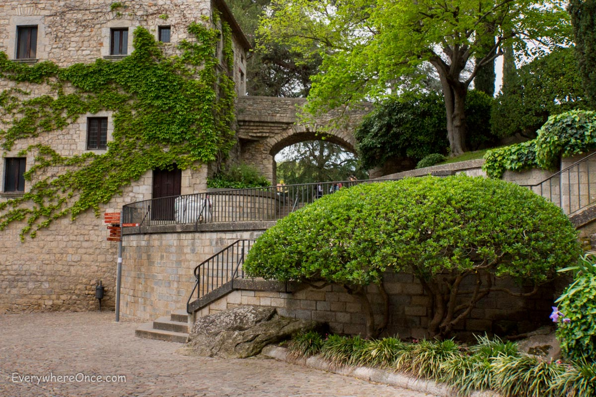 girona city of gardens and stairs everywhere once