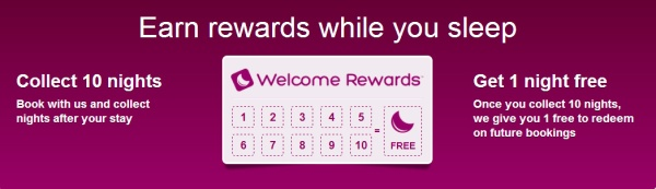 Hotels Welcome Rewards