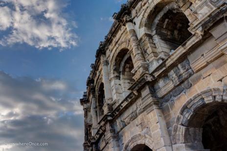 Roman Colosseum, Nimes, France