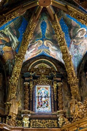 Valencia Cathedral Frescos
