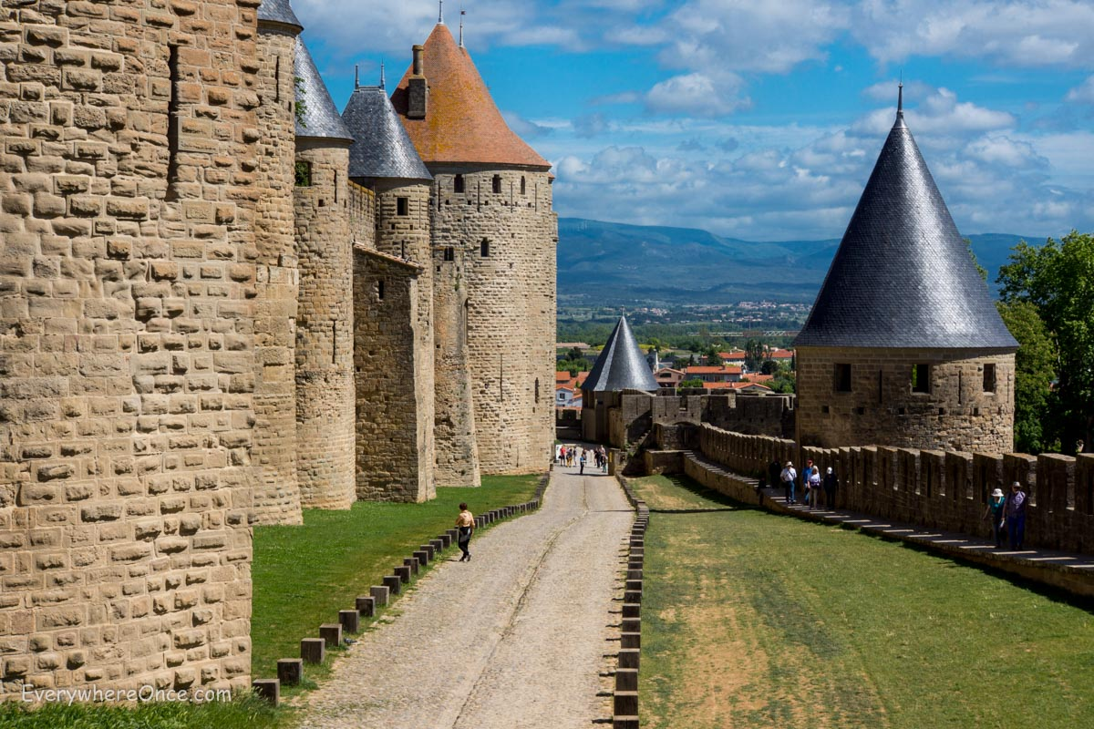 carcassonne thank god it s touristy everywhere once. Black Bedroom Furniture Sets. Home Design Ideas