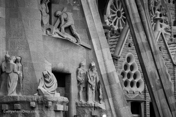Guadi Barcelona La Sagrada Familia