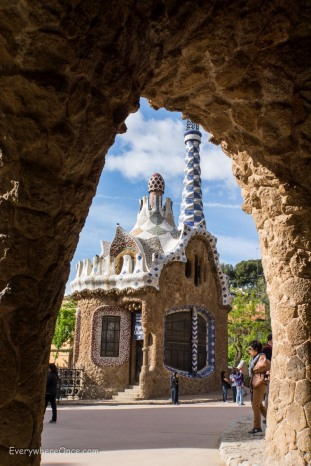 Guadi Barcelona Parc Guell