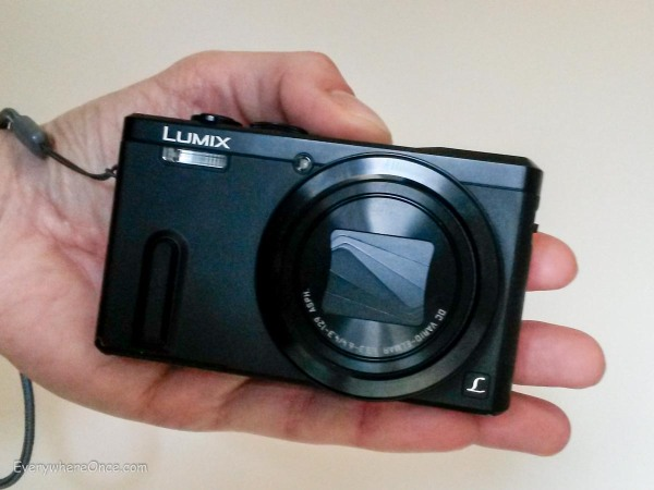 Lumix ZS40 Handheld Size
