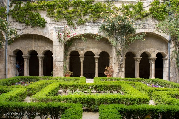 Monastery of Saint Paul de Mausole cloisters