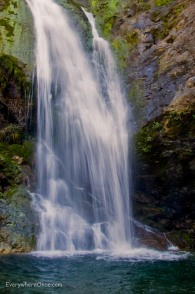 Salmon Creek Falls Big Sur California
