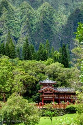 Byodo-In Temple, Oahu, Hawaii