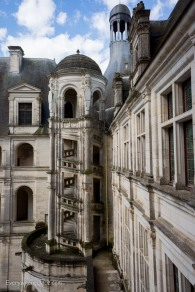 Chambord Spiral Staircase Exterior