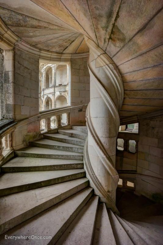 Chambord Spiral Staircase