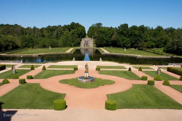 Chateau de la Roche Courbon Garden