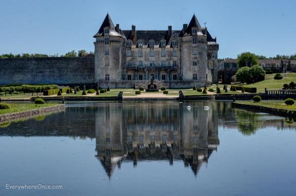 Chateau de la Roche Courbon Reflecting Pool