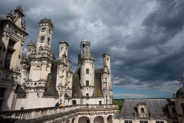 Château de Chambord Rooftop