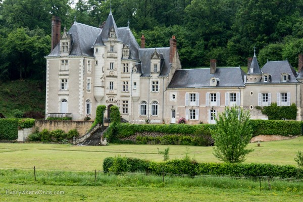 Random Chateau in the Loire Valley