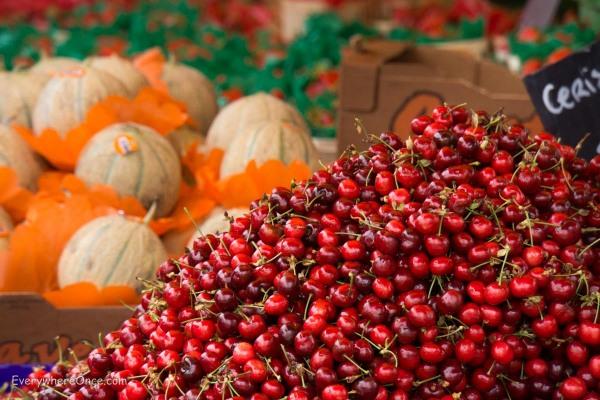 Cherries and Mellon