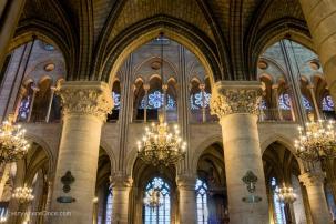 Inside Notre Dame, Paris