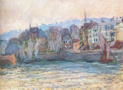 Monet Honfleur