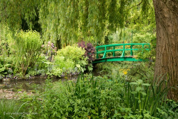 Monet's Garden Bridge Giverny