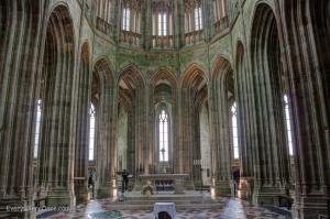 Mont Saint Michel Chapel Interior Everywhere Once