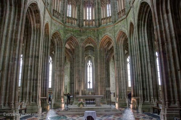 Mont Saint Michel Chapel Interior