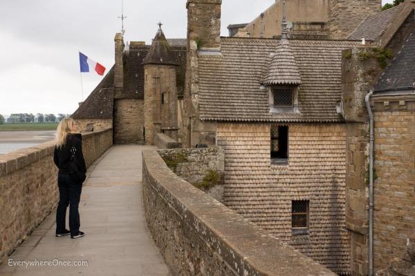 Mont Saint Michel Ramparts