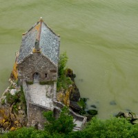 Stone House on the Banks of Mont Saint Michel