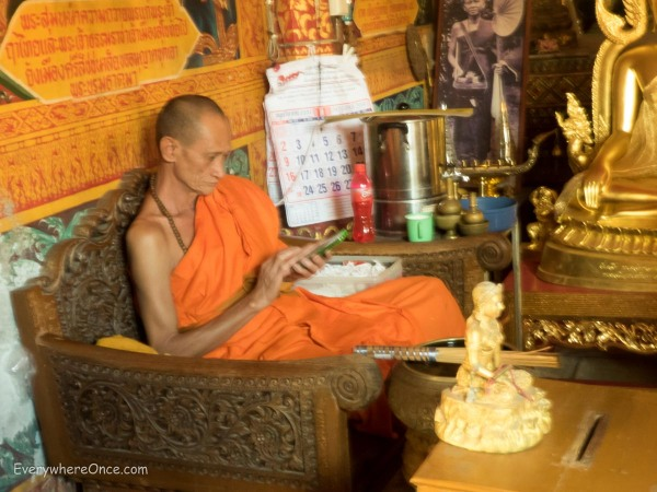 A Monk and His iPhone