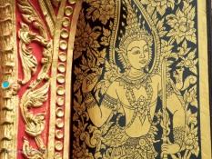 Buddha Art at Wat Jed Yod, Chiang Rai Thailand