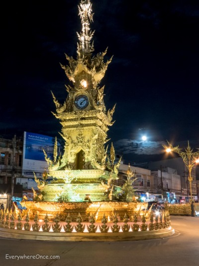 Clock Tower, Chiang Rai Thailand