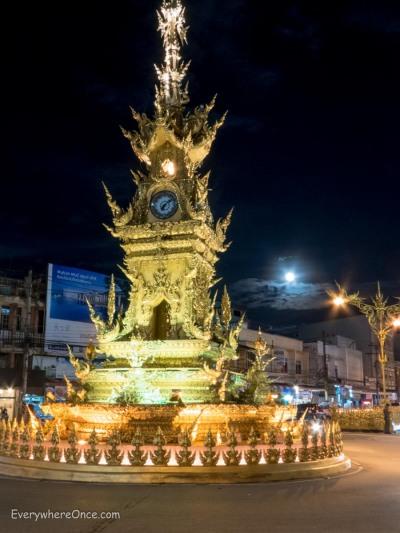 Clock Tower, Chiang Rai Thailand