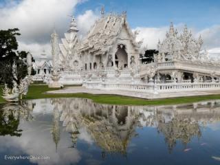 The White Temple Wat Rong Khun, Chiang Rai, Thailand
