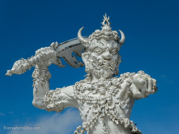 The White Temple Wat Rong Khun Guardian