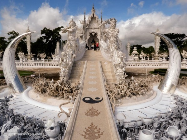 The White Temple Wat Rong Khun Thailand