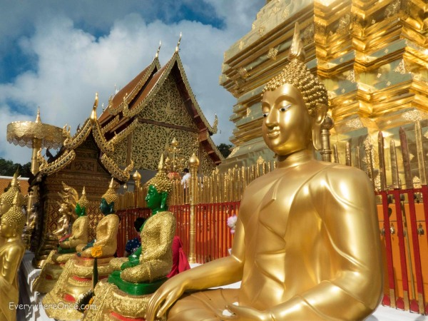 Wat Phra That (Doi Suthep), Chaing Mai, Thailand
