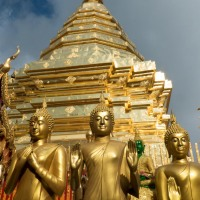 Two Chiang Mai Temples: Obvious and Overlooked