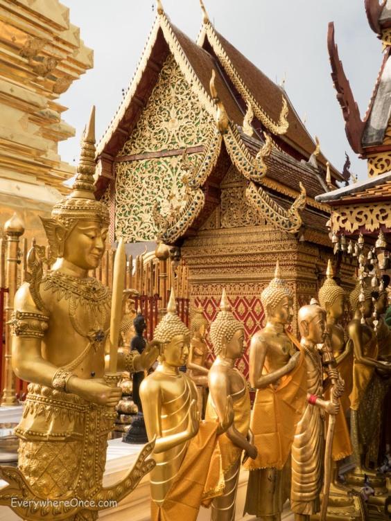Wat Phra That (Doi Suthep) Chaing Mai, Thailand