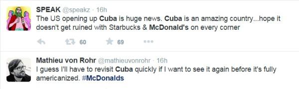 Cuba Tweet 1