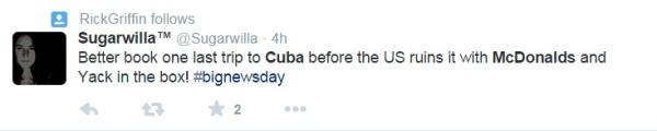 Cuba Tweet 2