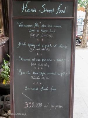 Hanoi Street Food-
