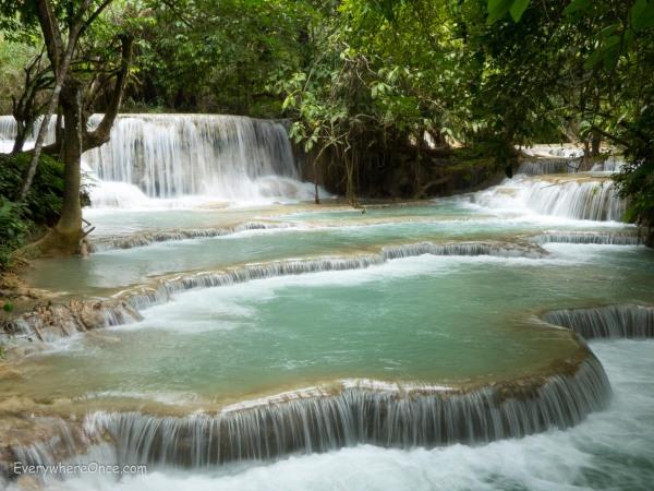 Luang Prabang Kuang Si Falls 2