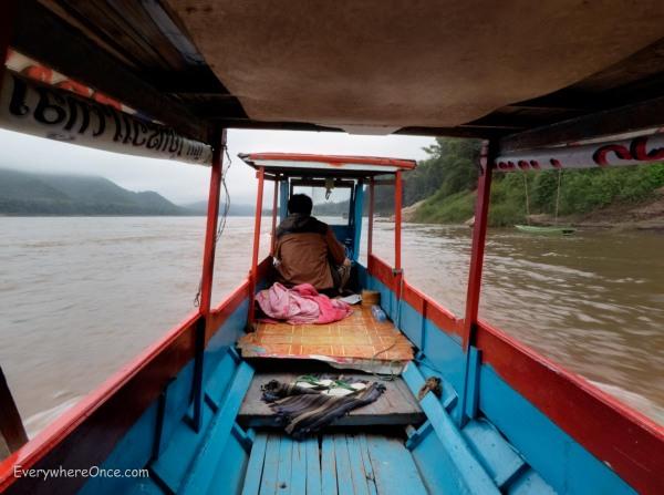 Luang Prabang Longtail Boat