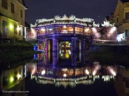 Hoi An Japanese Bridge at Night