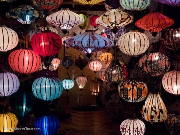 Hoi An's famous lanterns